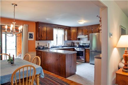 Brewster Cape Cod vacation rental - Bright, fully equipped kitchen with all new appliances
