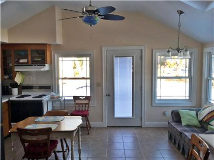 West Dennis Cape Cod vacation rental - Eat-in area of kitchen