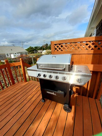 West Dennis Cape Cod vacation rental - Grill on the deck