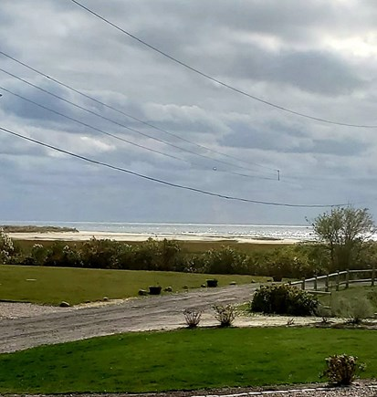 West Dennis Cape Cod vacation rental - View from the picture window