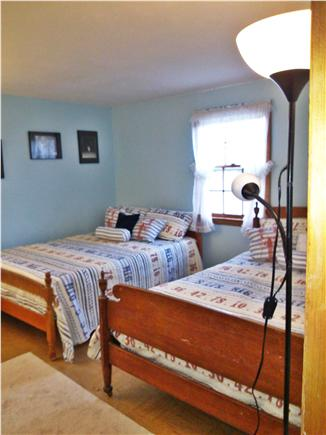 Dennis, 7 Poiticki rd Cape Cod vacation rental - Bedroom 2  - 2 Full just painted new spreads and blankets