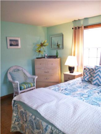 West Dennis Cape Cod vacation rental - Bedroom 3 - 1 Queen new spread, blankets and newer mattress