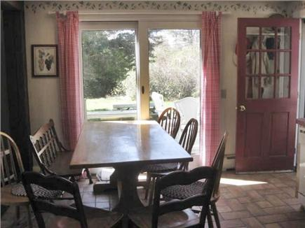 Brewster Cape Cod vacation rental - Dining area with sliders to deck