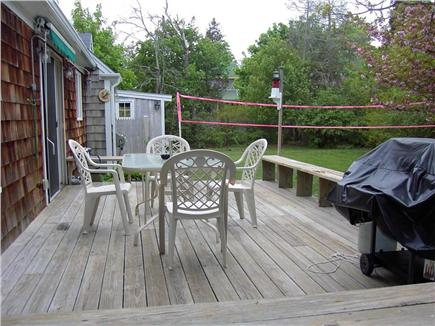 Hyannis Cape Cod vacation rental - Deck