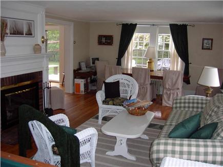 Hyannis Cape Cod vacation rental - Spacious Living Room with Dining Area