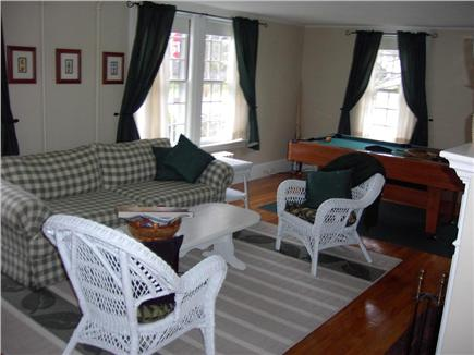 Hyannis Cape Cod vacation rental - Living room with pool table