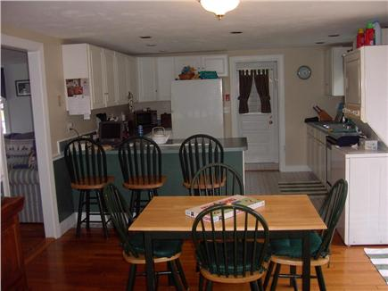 Hyannis Cape Cod vacation rental - Open dining area with sliders to deck