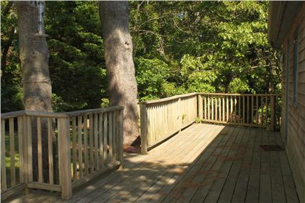 South Orleans Cape Cod vacation rental - Deck at front of house