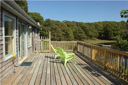 South Orleans Cape Cod vacation rental - Waterfront Deck