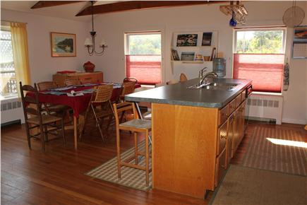 South Orleans Cape Cod vacation rental - View of kitchen/dining area