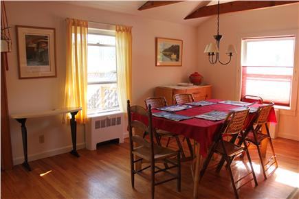 South Orleans Cape Cod vacation rental - Dining area