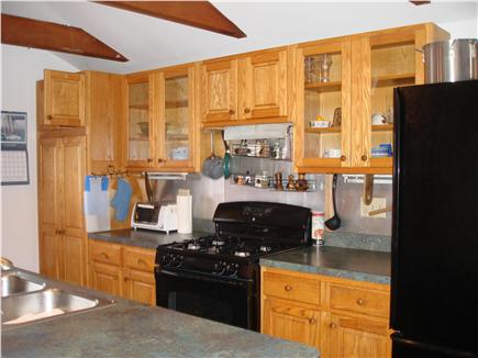 South Orleans Cape Cod vacation rental - Kitchen with gas range