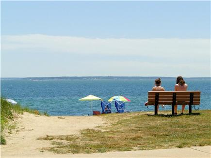 Falmouth  Cape Cod vacation rental - Entrance to the beach at the end of our street