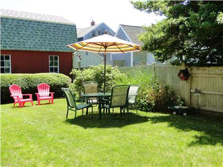 Falmouth  Cape Cod vacation rental - Shared back yard - great place for afternoon rest