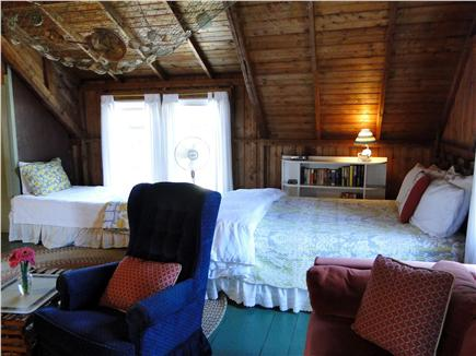 Falmouth  Cape Cod vacation rental - Showing both the queen bed and twin bed
