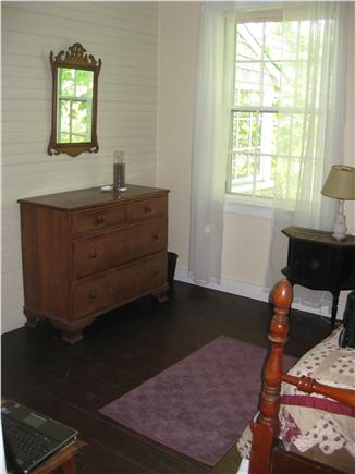 west hyannisport Cape Cod vacation rental - Double Connects to Porch Bedroom and Hall