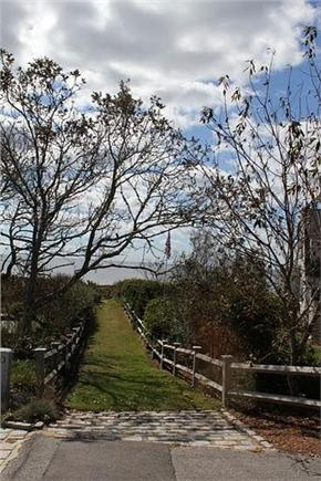west hyannisport Cape Cod vacation rental - Private Path to Private Beach