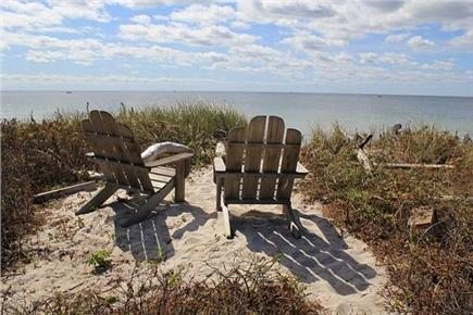 west hyannisport Cape Cod vacation rental - Private Beach on Craigville Beach
