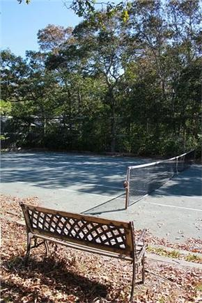 west hyannisport Cape Cod vacation rental - Private Tennis Court