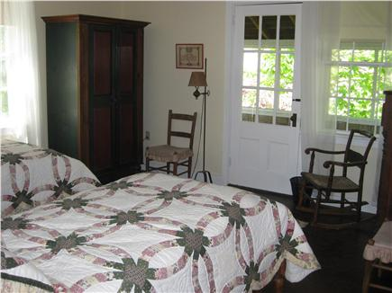 west hyannisport Cape Cod vacation rental - Twin Beds in Large Room with Sleeping Porch