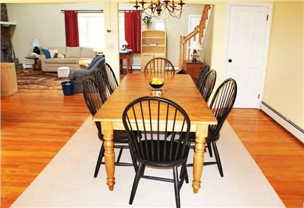 East Sandwich Cape Cod vacation rental - Separate Dining Room opens to Kitchen, Living & Sunroom