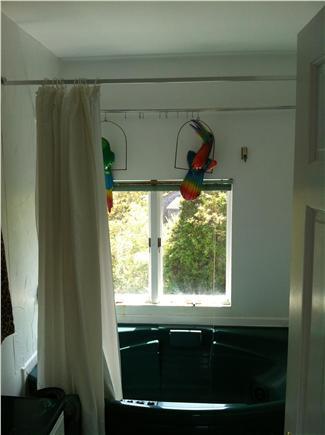 Wellfleet Cape Cod vacation rental - Upstairs bath with jacuzzi