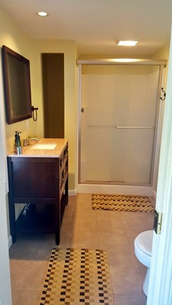 West Yarmouth Cape Cod vacation rental - Master bath