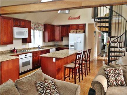 West Yarmouth Cape Cod vacation rental - Modern kitchen with breakfast bar