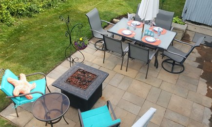 West Yarmouth Cape Cod vacation rental - Relax and Dine with a very private patio