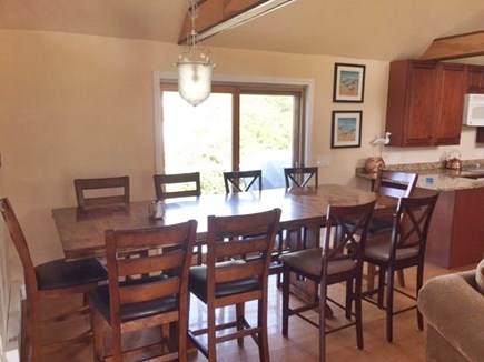West Yarmouth Cape Cod vacation rental - Plenty of space for 10 at at the dining area