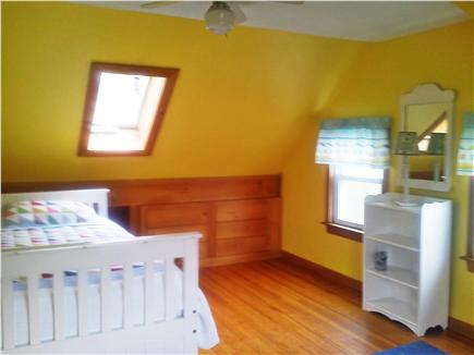 Sandwich Cape Cod vacation rental - Upstairs bedroom with twin trundle bed (sleeps 2), 1 skylighht