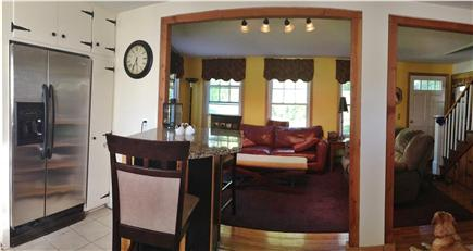 Sandwich Cape Cod vacation rental - Open space of kitchen viewing into living room
