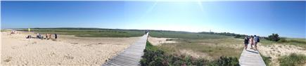Sandwich Cape Cod vacation rental - Panoramic view of the board walk