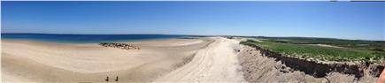 Sandwich Cape Cod vacation rental - Panoramic view of beach