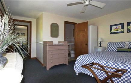 Mashpee Cape Cod vacation rental - Upstairs bedroom with queen bed, single bed and bathroom