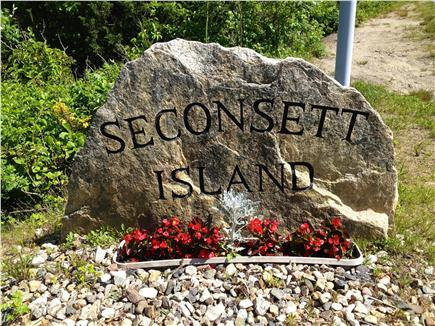 Mashpee Cape Cod vacation rental - Seconsett Island entrance
