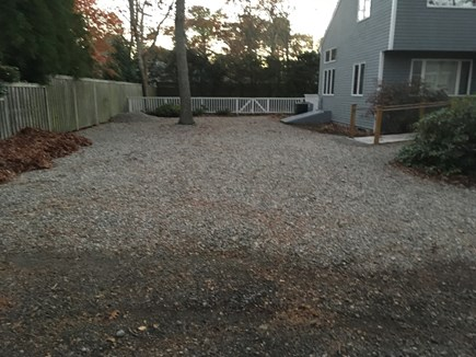 Mashpee Cape Cod vacation rental - Spacious driveway.