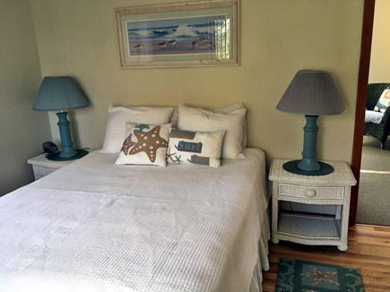Mashpee Cape Cod vacation rental - Downstairs bedroom includes TV.
