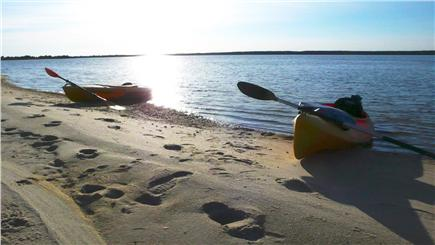 Mashpee Cape Cod vacation rental - Launch kayaks into Hamlin Pond and explore Waquoit Bay