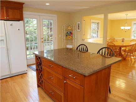 Cotuit Cotuit vacation rental - Center island with large, open dining room