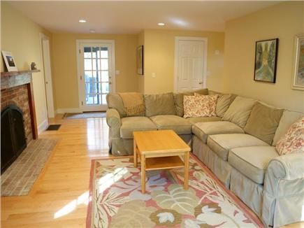 Cotuit Cotuit vacation rental - Living room with fireplace