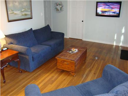 Brewster Cape Cod vacation rental - Living room with flat TV