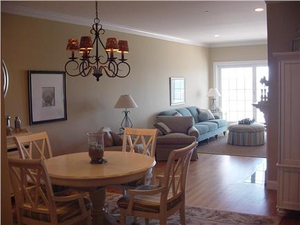 Falmouth Cape Cod vacation rental - Large Living room/dining room combination w/slider to deck