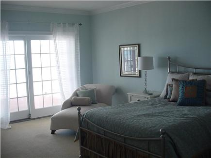 Falmouth Cape Cod vacation rental - Master bedroom also has slider to oceanfront deck