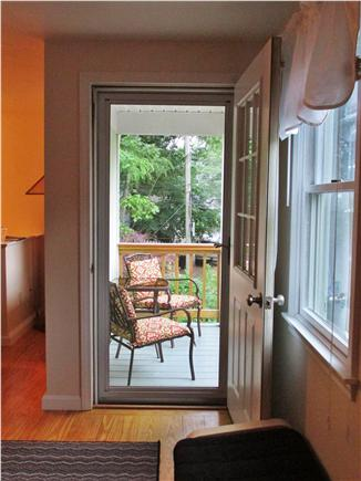 Bourne, Buzzards Bay Cape Cod vacation rental - Balcony with view of the village