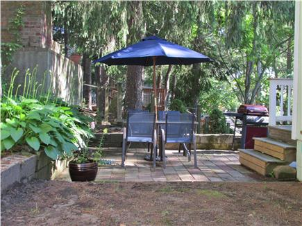 Bourne, Buzzards Bay Cape Cod vacation rental - Outdoor dining and relaxing