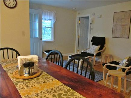 Bourne, Buzzards Bay Cape Cod vacation rental - Upstairs living room with balcony