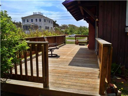 Falmouth Cape Cod vacation rental - Deck off the kitchen area