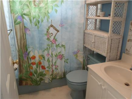 Falmouth Cape Cod vacation rental - Bathroom with shower/ Tub