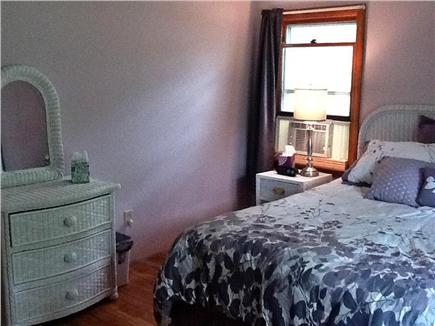 South Dennis Cape Cod vacation rental - Crystal plum master bedroom  with queen bed & flatscreen HDTV